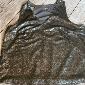 Sparkle sequined tank 18/20